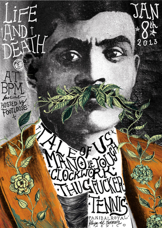Zapata — Life And Death Party at BPM in 2013